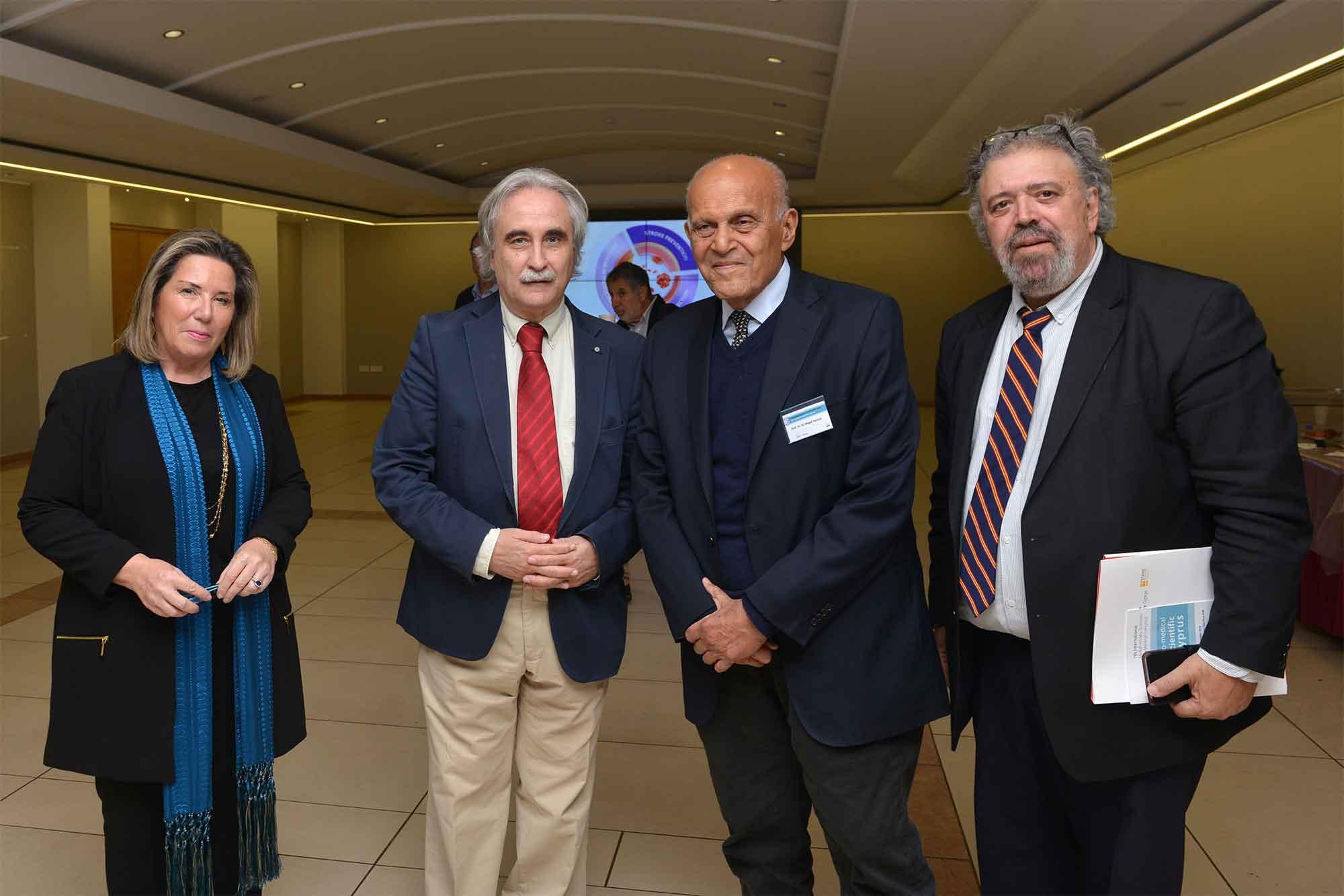 Magdi Yacoub at EUC